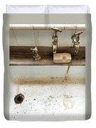 Old Sink Duvet Cover