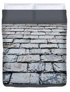 Old Slate Tiles Duvet Cover