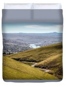 Old Spiral Highway To Lewiston Duvet Cover