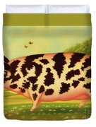 Old Spot Pig Duvet Cover