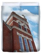 Old St Pete Steeple Duvet Cover