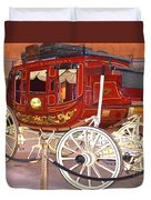 Old Stagecoach - Wells Fargo Inc. Duvet Cover