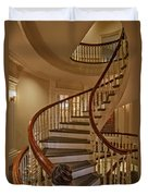 Old State House Spiral Staircase Duvet Cover