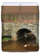 Old Stone Bridge In Illinois 1 Duvet Cover