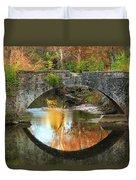 Old Stone Bridge Over Fountain Creek 2 Duvet Cover