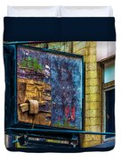 Old Store Sign Pittsburgh Pennsylvania V4 Dsc0917 Duvet Cover