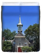 Old Swedes' Church Duvet Cover