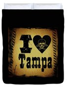 Old Tampa Duvet Cover