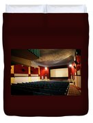 Old Theater Interior 1 Duvet Cover by Marilyn Hunt