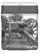 Old Time Cannon Duvet Cover