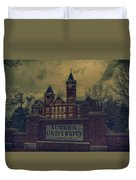 Old Time Samford Hall Duvet Cover