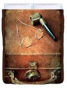 Old Time Travel Duvet Cover