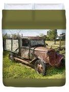 Old Timer Duvet Cover