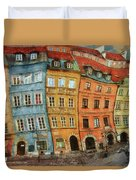 Old Town In Warsaw # 32 Duvet Cover