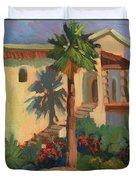 Old Town La Quinta Palm Duvet Cover