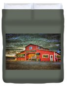 Old Town Mall Bandon Duvet Cover