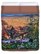 Old Town, Sighisoara Duvet Cover