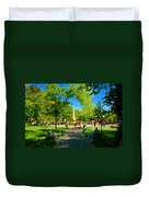 Old Town Square Santa Fe Duvet Cover