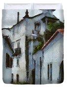 Old Town Street Duvet Cover