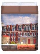 Old Town Wichita Kansas Duvet Cover