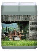 Old Tractor - Missouri - Barn Duvet Cover