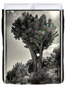 Old Tree In Sicily Duvet Cover