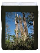 Old Tress  Duvet Cover