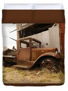 Old Truck In Old Forgotten Places Duvet Cover