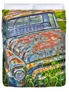 001 - Old Trucks Duvet Cover