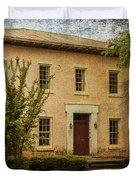 Old Tuscaloosa Jail Duvet Cover