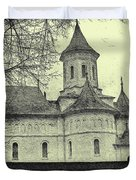 Old Village Church Duvet Cover