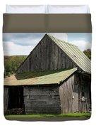 Old Virginia Barn Duvet Cover