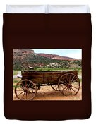 Old Wagon Duvet Cover