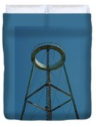Old Watertower  Duvet Cover