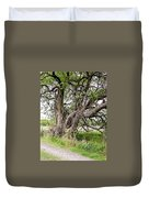 Old Weathered Tree Duvet Cover