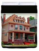 Old West End Pink 3 Duvet Cover