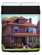 Old West End Pink 5 Duvet Cover