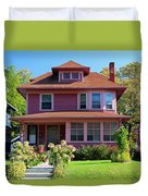 Old West End Pink 7 Duvet Cover