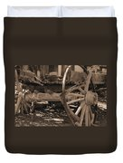 Old Western Wagon # 4 Duvet Cover
