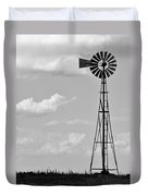 Old Windmill II Duvet Cover