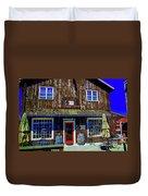 Old Wine Shop Duvet Cover