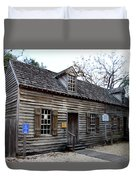Old Wine Store - St Augustine Duvet Cover