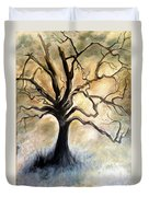 Old Wise Tree Duvet Cover