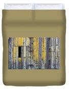 Old Wooden Barn Duvet Cover
