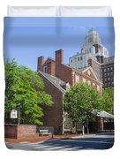 Olde City Tavern  - Philadelphia Pa Duvet Cover