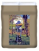 Oldenburg Fireplug Duvet Cover