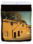 Oldest House In Santa Fe Duvet Cover