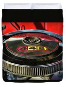 Olds 442 Air Cleaner Duvet Cover