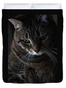 Ole Green Eyes Duvet Cover