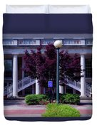 Ole Miss Campus Duvet Cover